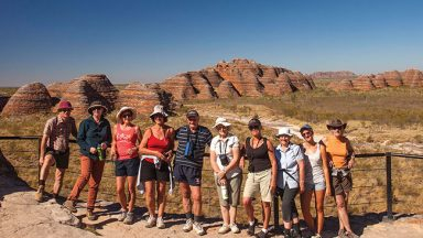 Group photo Bungle Bungle Range