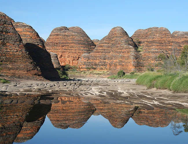 Beehive domes Bungle Bungle Range