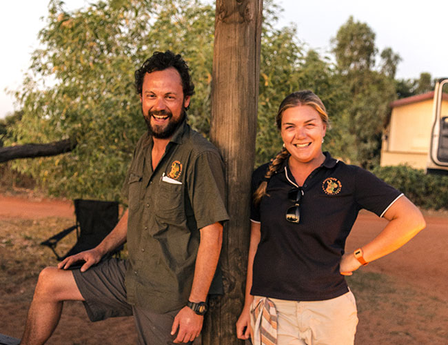 Kimberley Wild tour guides