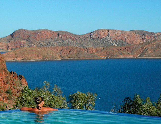 Overlooking Lake Argyle