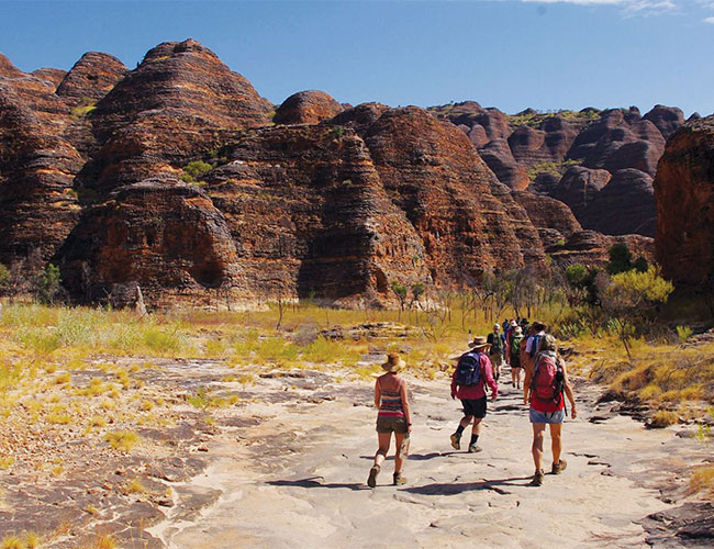 Great walking trails in Purnululu National Park