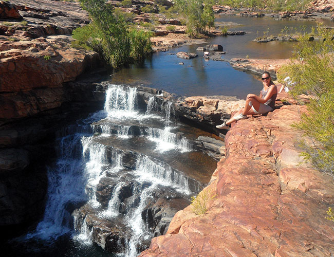 Bell Gorge, one of the Kimberley's most stunning