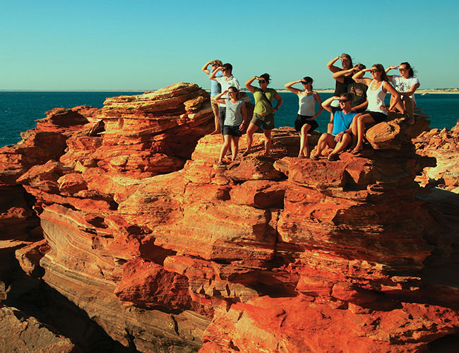 Gantheaume Point red rocks Broome
