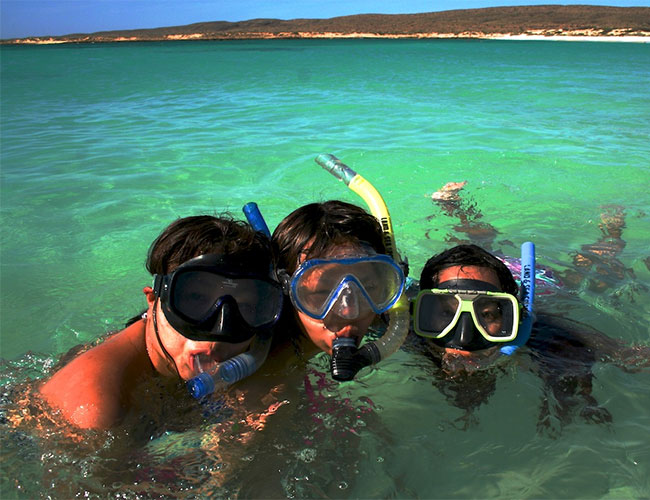 Great snorkeling at Exmouth