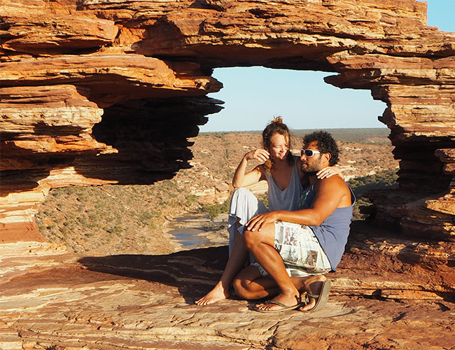 Kalbarri National Park, Natures Window