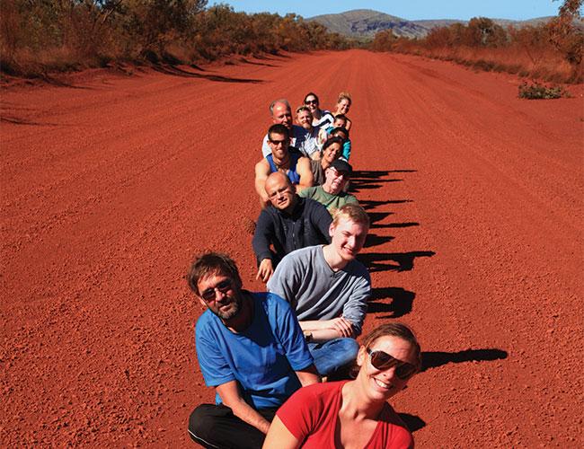 Pilbara red road, Karijini National Park