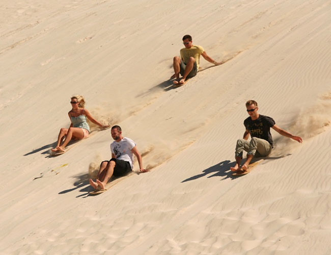 Sand boarding Jurien Bay