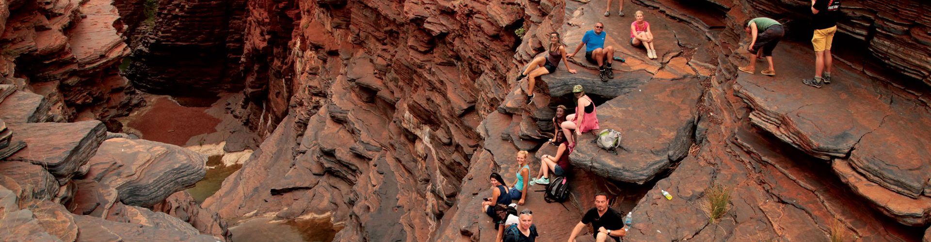 Trekking in Karijini National Park