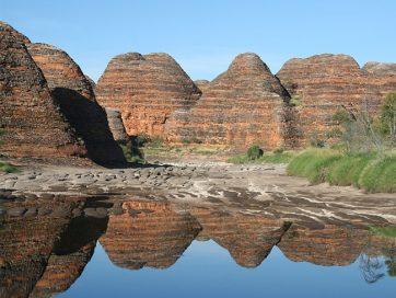 Beehive domes Bungle Bungle Range